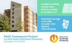 Our first PACE energy efficiency/renewable energy project under the new KY-PACE program. #energyefficiency #renewableenergy #sustainableenergy #PACEFinancing