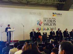 CANDELA Y GUERRERO RECIBEN NOMBRAMIENTO DE PUEBLOS MÁGICOS Coahuila asiste a la Feria Nacional de Pueblos Mágicos en Puebla y obtiene la denominación de 2 pueblos mágicos más, Coahuila contará con 6 Pueblos Mágicos en total.