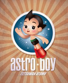 One of the original kawaii characters - ASTRO BOY!