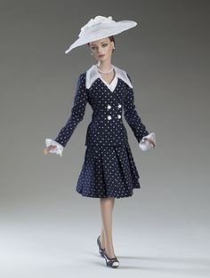 """Sydney Chase """"Retro Dots"""" dressed doll by Tonner, 2005 -- pure """"back to the Fifties!"""""""