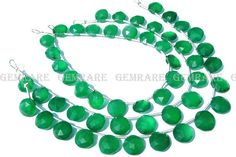 Christmas Sale Green Onyx beads In Coin Faceted Shape Quality #greenonyx #greenonyxbeads #greenonyxbead #greenonyxcoin #coinbeads #beadswholesaler #semipreciousstone #gemstonebeads #gemrare #beadwork #beadstore #bead
