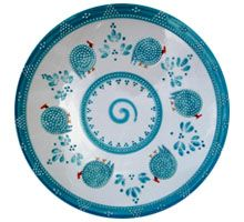 SEA GREEN PERSIAN PLATE