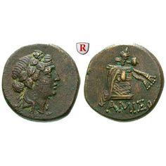 Pontos, Königreich, Mithradates VI., Bronze, ss-vz: Mithradates VI. 120-63 v.Chr. Bronze 21 mm Amisos. Kopf des Dionysos r. mit… #coins
