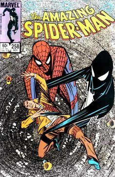 The Amazing Spider-Man #258 (1963 series) - cover by Ron Frenz
