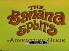 The Banana Splits are four comedic animal characters who featured in a late 1960s children's variety show made for television.