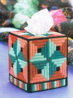 EDREDÓN AMISH tejido caja Coer patrón de lona plástica por M2Hawk