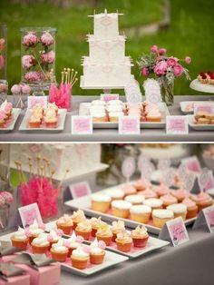 Pretty dessert table