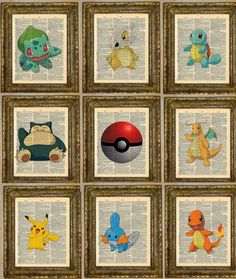 Hey, I found this really awesome Etsy listing at http://www.etsy.com/listing/126070005/pokemon-customizable-dictionary-art