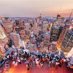 Top Of The Rock , NYC By @Jacob