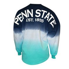 Maybe we could do purple fade out instead of the blue Sporty Clothes, Comfy Clothes, Sporty Outfits, Cute Outfits, College Apparel, College Shirts, College Outfits, Penn State Volleyball, Penn State Sports