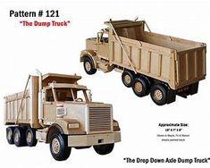 Wooden Toy Trucks Plans Free
