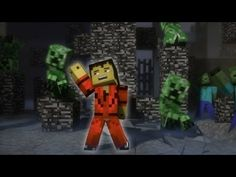 "▶ ♫ ""Creeper"" - A Minecraft Parody of Michael Jackson's Thriller (Halloween Music Video Animation) - YouTube"