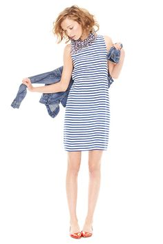 striped dress #r29summerstyle