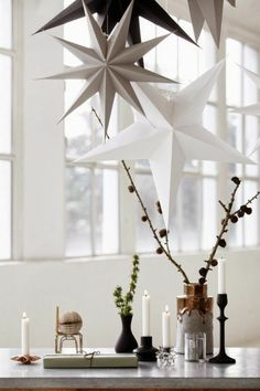 Christmas decorations in the Scandinavian style – 46 ideas how to decorate the home for Christmas - Home Page