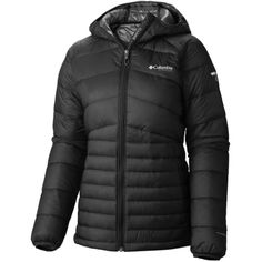 Columbia Diamond 890 TurboDown Hooded Jacket - Women's Black, M Ski Sport, Jackets For Women, Clothes For Women, Ski And Snowboard, Columbia, Skiing, Hooded Jacket, Winter Jackets, Stylish