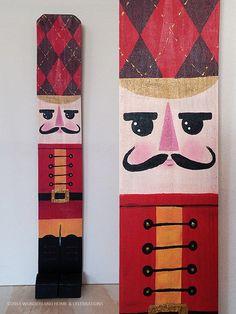 Juguete soldado Cascanueces exterior decoración interior madera