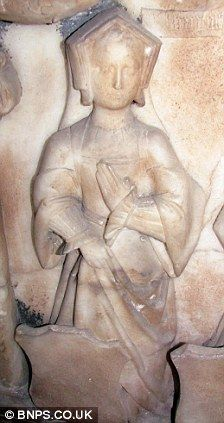 Illegitimate: A depiction of Bessie Blount - King Henry VIII's secret mistress from the side of her parent's tomb.