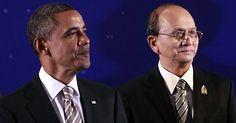 Obama speaks to Burma's political leaders