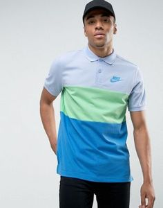 Nike Matchup Polo Shirt In Blue 847646-450