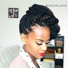 How to style the box braids? Tucked in a low or high ponytail, in a tight or blurry bun, or in a semi-tail, the box braids can be styled in many different ways. To go to work, we can wear… Continue Reading → Box Braids Hairstyles, Twist Hairstyles, Cool Hairstyles, Protective Hairstyles, Protective Styles, Black Hairstyles, Hairstyle Ideas, Wedding Hairstyles, Curly Hair Styles