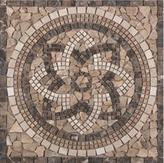 Wall or floor medallions in tile add a strong design element to your tile floor or kitchen backsplash. Here are new arrivals sure to transform your wall or floor tile installation.