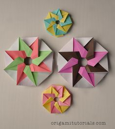 Origami Heleni Star Tutorial
