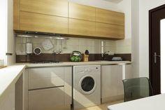 Caramel Minimalism, Caramel, Kitchen Cabinets, Home Appliances, Studio, Home Decor, Trendy Tree, Sticky Toffee, House Appliances