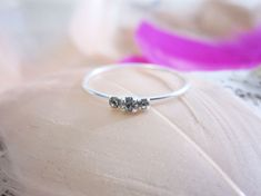 Ring - Jeweled - 925 Sterling Zilver - maat 9