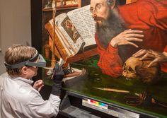 "Mark van Gelder treats ""St.Jeromein His Study,""Marinus vanReymerswaele [attributed, likely workshop of](c.1490–c.1546)]"
