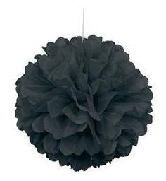 "16"" Puff Ball - Black"