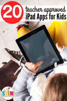 Lots of teacher approved iPad Apps for Kids! Math games, reading apps, building games... lots of great ideas for the classroom or at home.