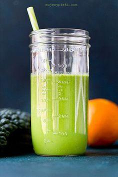 Smoothie z jarmużu, gruszki i ananasa Liquid Measuring Cup, Smoothies, Kitchen Appliances, Cooking, Recipes, Diet, Pineapple, Smoothie, Diy Kitchen Appliances