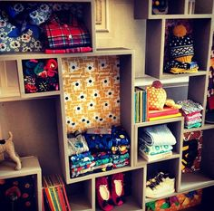 To do for fabric in a craft room. Or books for kids. Or accessories for the girls accessory closet.