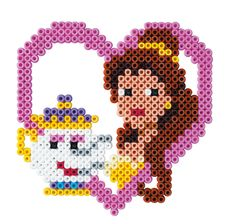 Who's going to see Beauty and the Beast this weekend?! Join us in making Belle and Mrs Potts out of Hama Beads this weekend too!