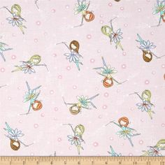 Timeless Treasures Starry Night Forest Tossed Fairies Pink from @fabricdotcom  Designed for Timeless Treasures, this cotton print fabric is perfect for quilting, apparel and home decor accents. Colors include pink, brown, orange, yellow and purple.