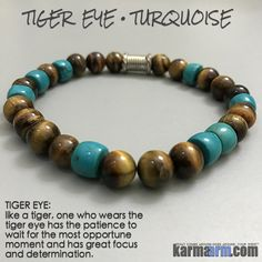 Like a tiger, one who wears the tiger eye has the patience to wait for the most opportune moment and has great focus and determination. Bracelets For Men, Beaded Bracelets, Stretch Bracelets, Yoga Jewelry, Men's Jewelry, Jewelry Ideas, Yoga Bracelet, Strand Bracelet, Healing Bracelets