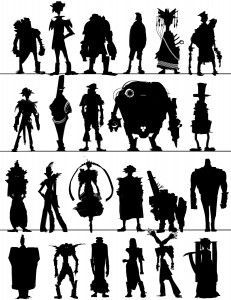 dreamworks character design silhouettes - Google Search