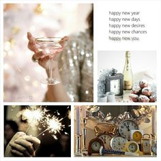 Happy New Year! Moodboard by Jeetje♡: Happy new chances