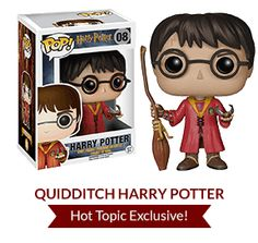 Photo: Harry Potter POP! Funko reveals 8th's character figure: Quidditch Harry Potter - SnitchSeeker.com