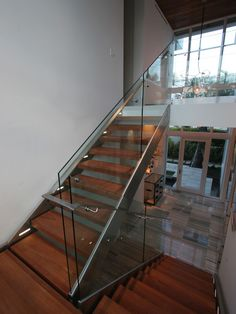 Modern Staircase Floating Staircase Design, Pictures, Remodel, Decor and Ideas - page 59