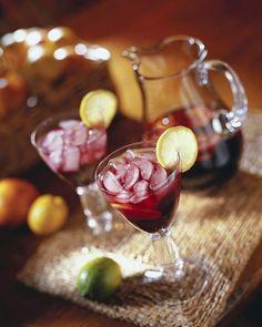 Bebidas sin alcohol y cocteles para las fiestas