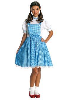 Halloween Costumes For Teenage Girls   Teen Dorothy Wizard of Oz Costume - Teen Halloween Costumes