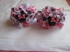 Little Princess Bows *3'' Bow set * SB:$3.00 * BI:$0.50 * SH:$2.50 * Payment due within 48 hours * Ready to ship * www.facebook.com/littleprincess.bows.girls