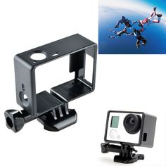 Standard Border Frame Mount Protective Housing Case for GoPro HD Hero 3 3+Camera! 100%New! Material: ABS. Compatible with GOPRO hero3/3+.