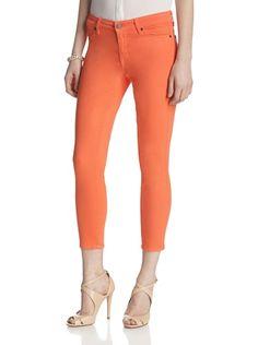CJ by Cookie Johnson Women's Believe Crop Legging (Tangerine)