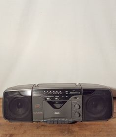 Vintage RCA Boombox 3 Piece System AM/FM Stereo by HailleysCloset