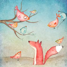 Fox's tale by Agnieszka Szuba