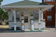 Old Gas Station -