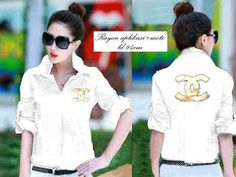 Mst chanel white @45rb Seri 2pcs, bhn katun rayon, ready 4mgg ¤ Order By : BB : 2951A21E CALL : 081234284739 SMS : 082245025275 WA : 089662165803 ¤ Check Collection ¤ FB : Vanice Cloething Twitter : @VaniceCloething Instagram : Vanice Cloe