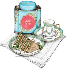 Downton Abbey Season 2 Recipe Cards  Dainty Afternoon Tea Sandwiches
